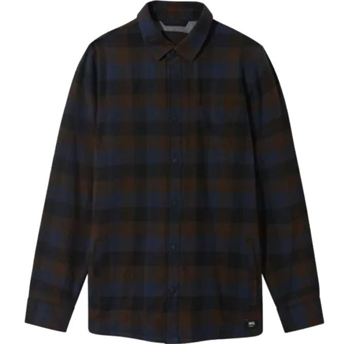 Vans Flannel Shirt Lined Olson Black-Demitasse
