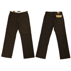 Vans Chino Pants Authentic Pro Straight Fit Demitasse Brown