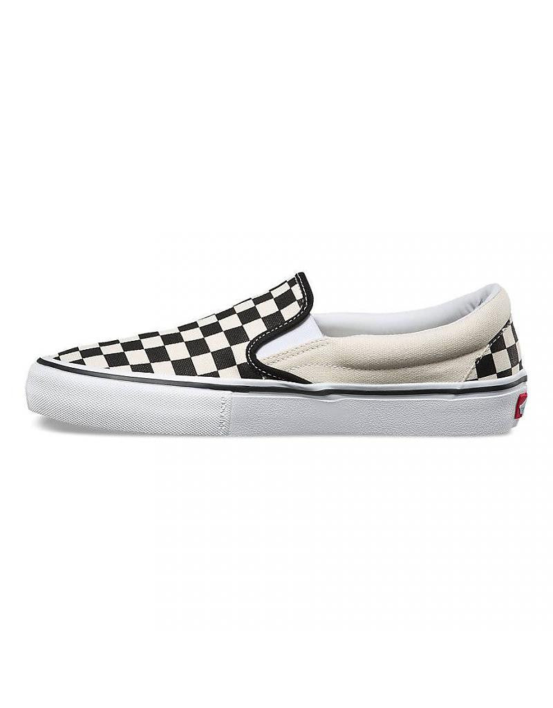 Vans Slip On Pro (ChckrBrd) Black/White