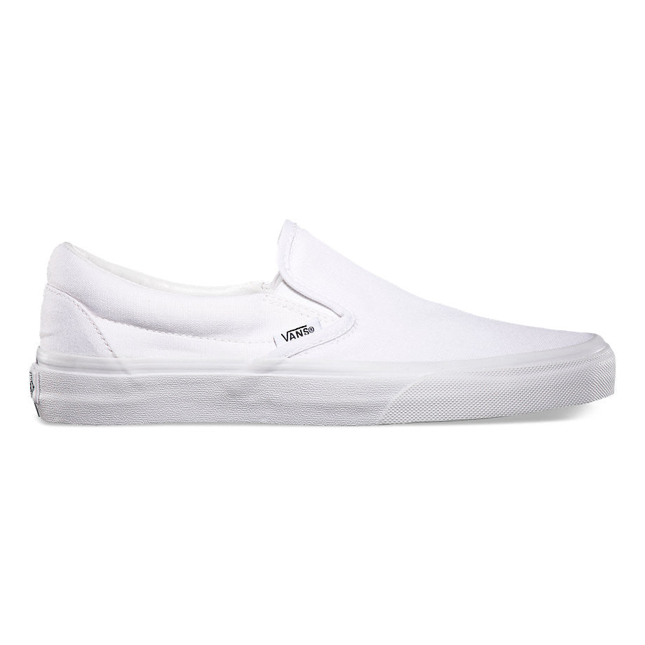 Vans Slip On True White