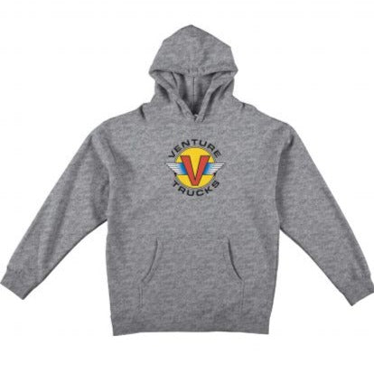 Venture Hoodie Wings Heather Grey