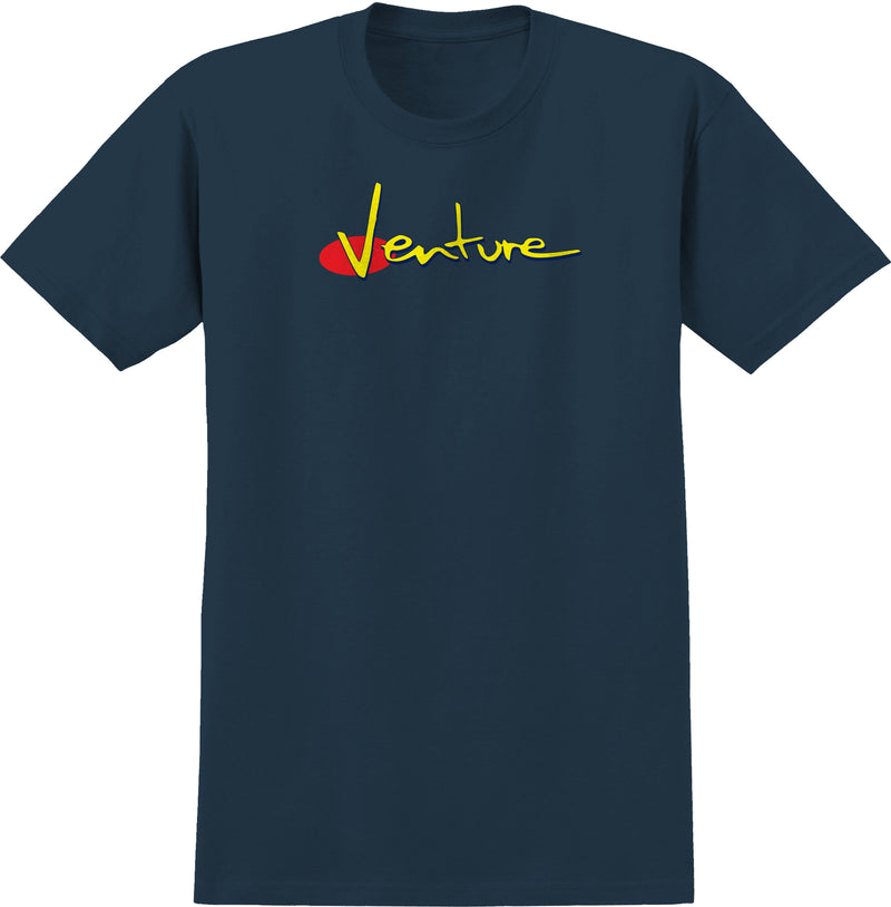 Venture T-Shirt 90s Harbour Blue