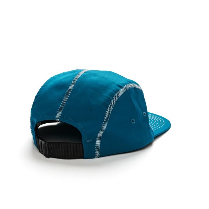 Polar 5 Panel Hat Zig Zag Teal