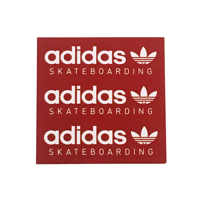 Adidas Sticker Square Red