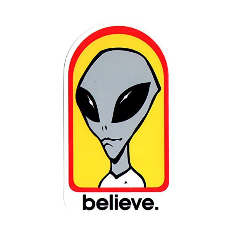 Alien Workshop Sticker Believe