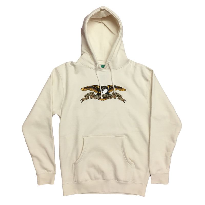 Anti Hero Hood Eagle Bone White