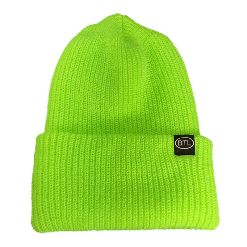 Blue Tile Lounge Beanie Country Safety Lime