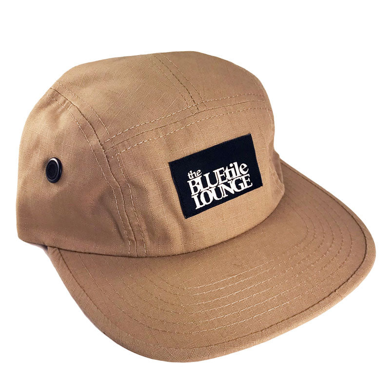Blue Tile Lounge 5 Panel Hat Palatino Brown