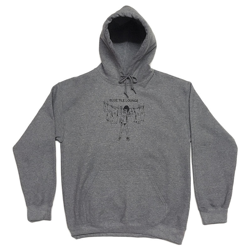 Blue Tile Lounge Hoodie Laundry Graphite Heather