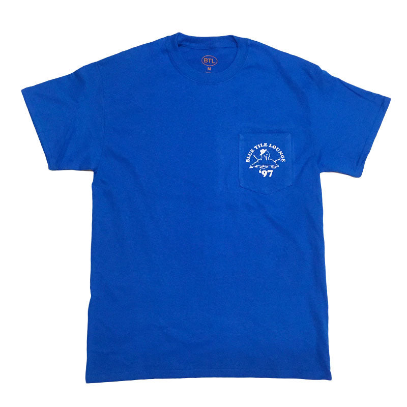 Blue Tile Lounge Pocket T-Shirt Snowman Royal Blue