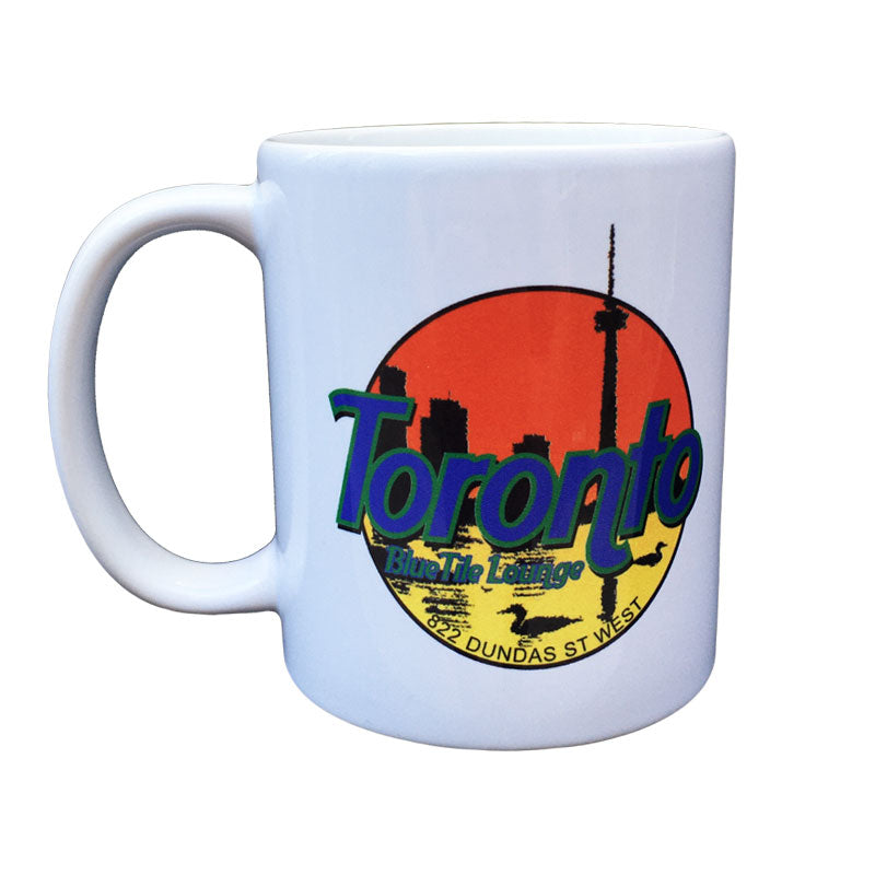 Blue Tile Lounge Mug Souvenir 4.0