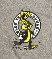 Blue Tile Lounge T-Shirt Bunny Heather Grey