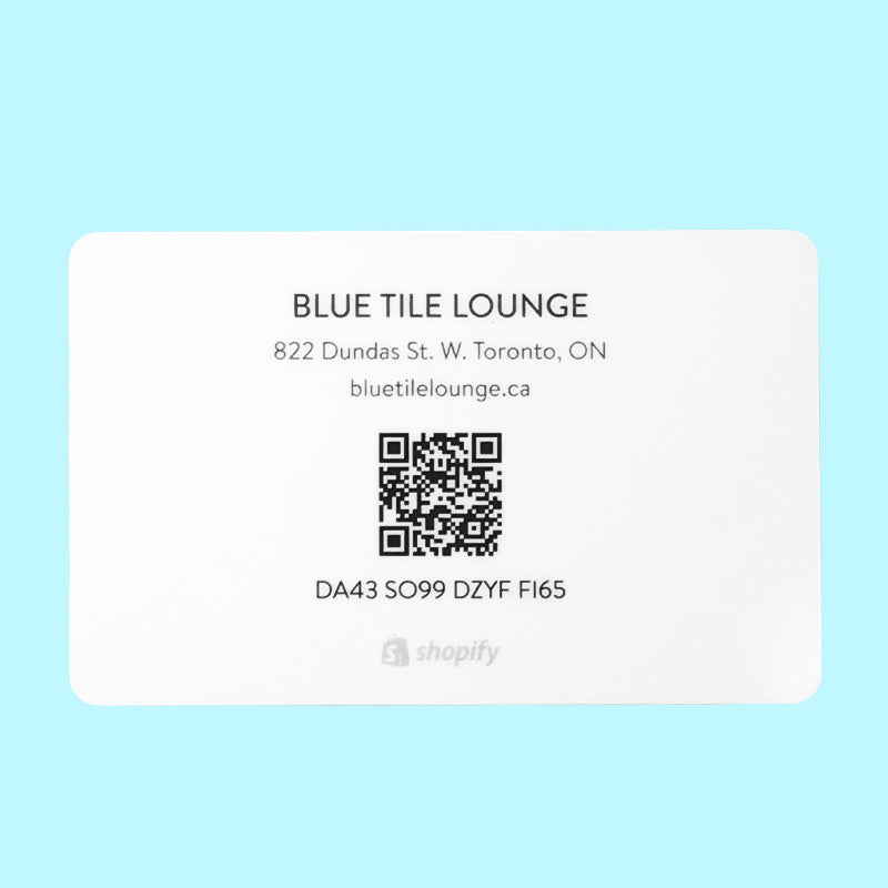 Blue Tile Lounge Gift Card