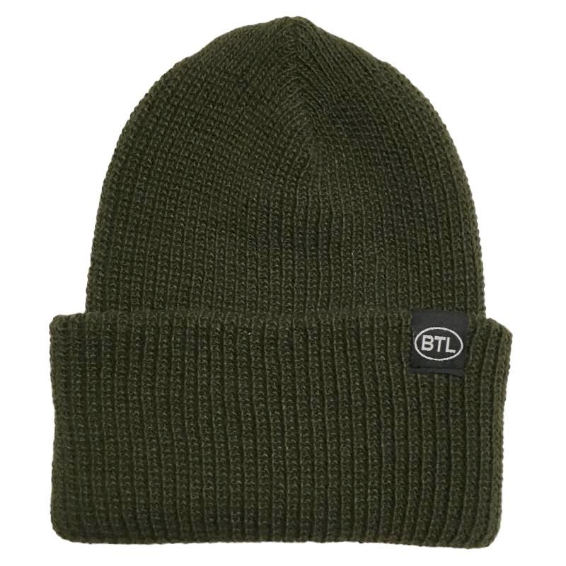 Blue Tile Lounge Beanie Country Code Navy