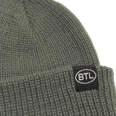 Blue Tile Lounge Beanie Country Code Grey