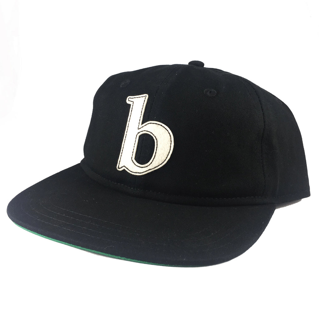 Blue Tile Lounge Snapback Hat Little b Black/White