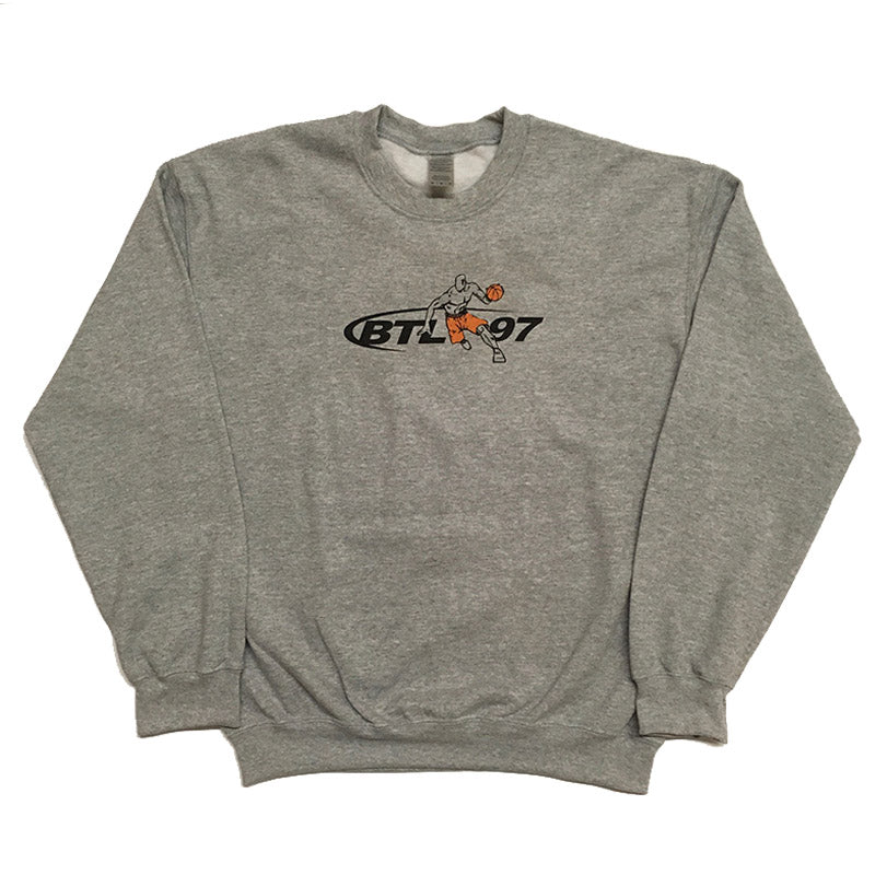 Blue Tile Lounge Crew Neck Sweater Tai Chi Sport Grey