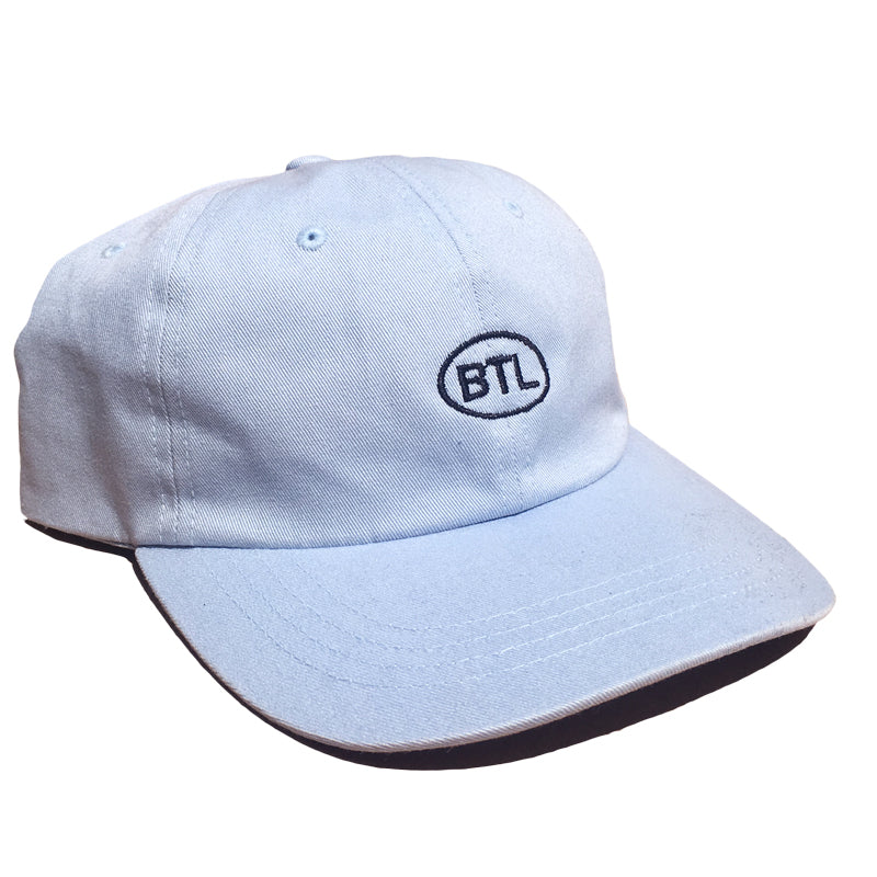 Blue Tile Lounge 6 Panel Hat Country Code Light Blue