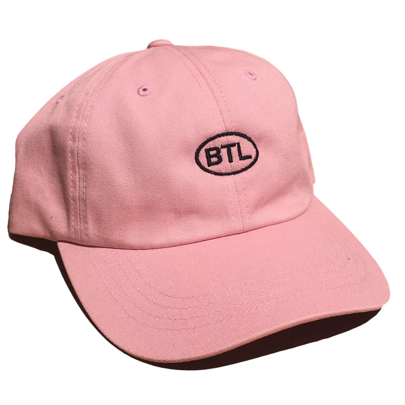 Blue Tile Lounge 6 Panel Hat Country Code Pink