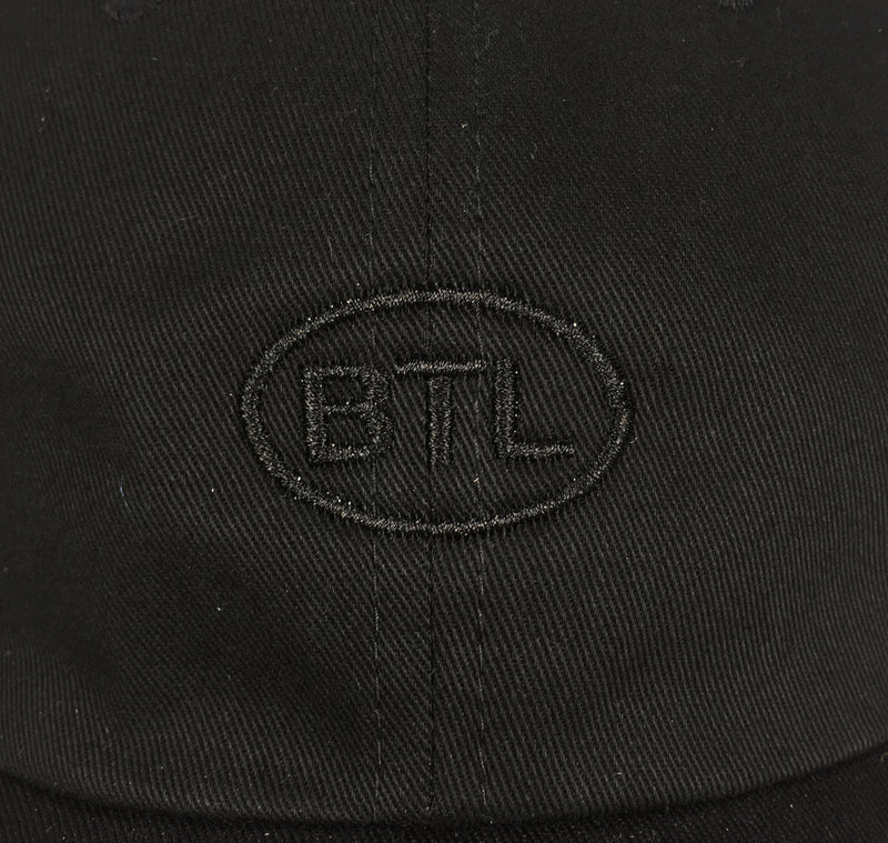 Blue Tile Lounge 6 Panel Hat Country Code Black