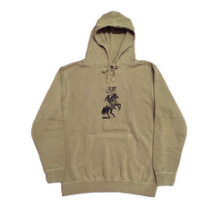 Blue Tile Lounge Hoodie Cowboy Manual Pigment Dyed Sandstone