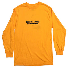 Blue Tile Lounge Long Sleeve T-Shirt Bort Gold