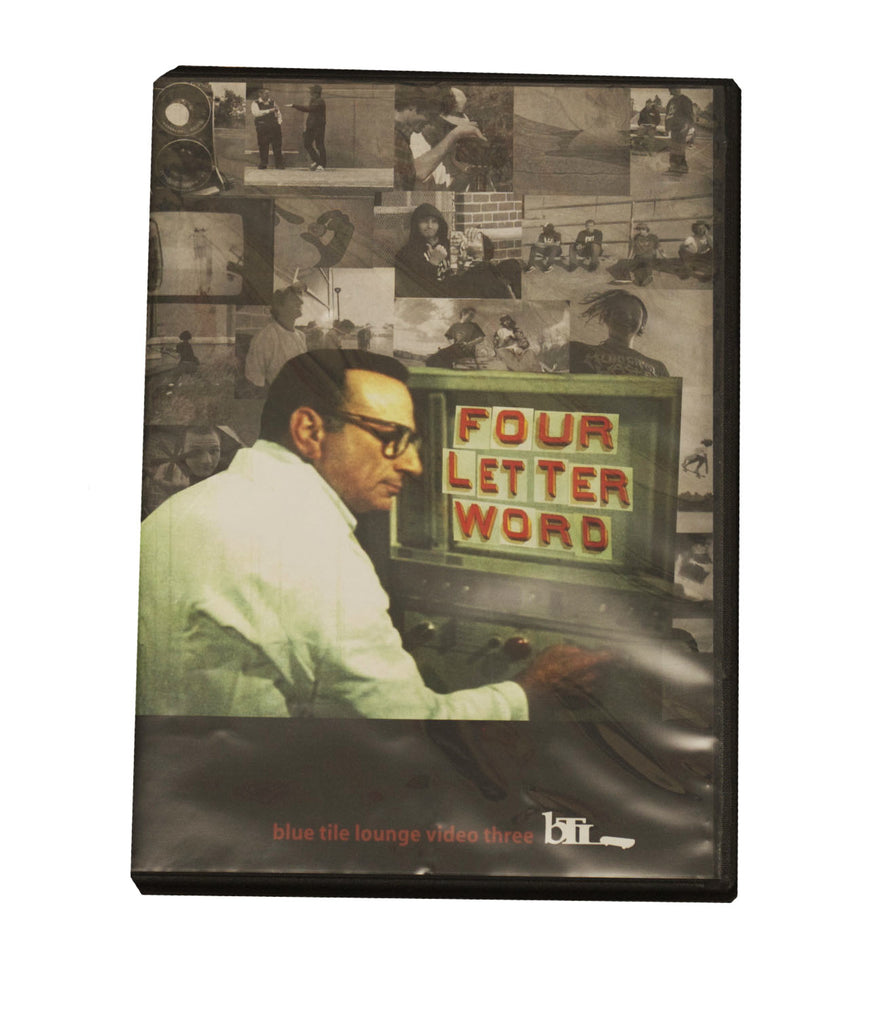 Blue Tile Lounge Four Letter Word DVD