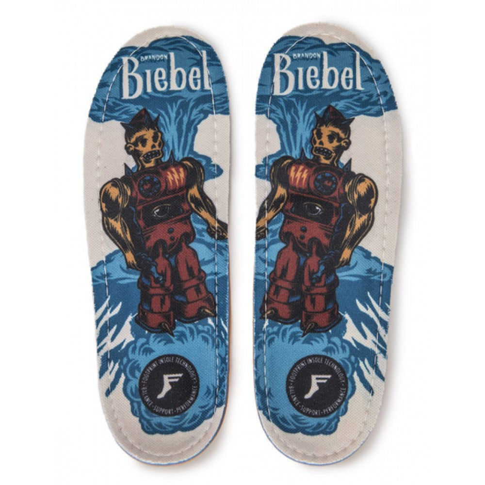 Footprint Insoles Biebel Robot King Foam Orthotics