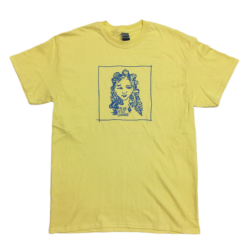 Blue Tile Lounge T-Shirt GONZ Cornsilk