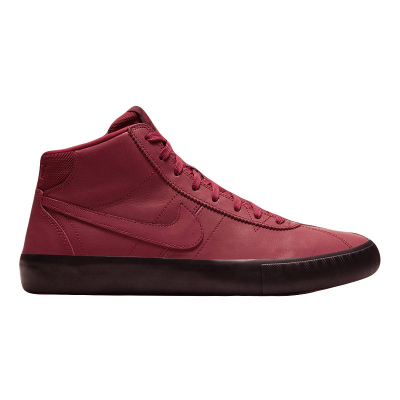 "Nike SB Bruin High ISO ""Leo Baker"" Team Red/Night Maroon-Black"
