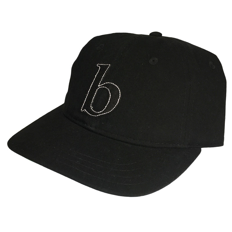Blue Tile Lounge Snapback Hat Little b Black/Black