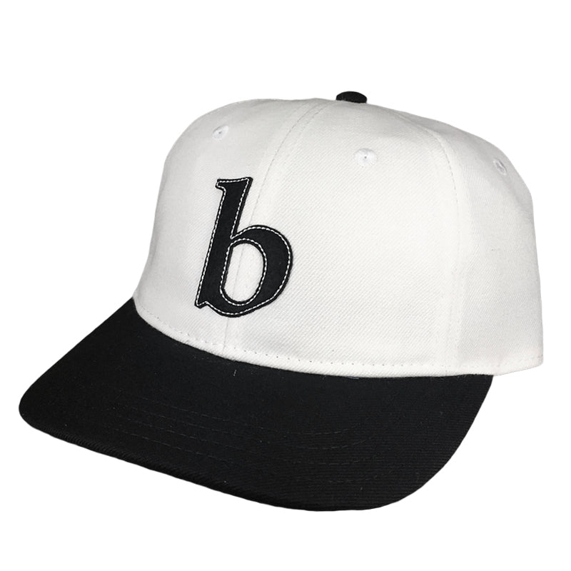 Blue Tile Lounge Snapback Hat Little b White/Black