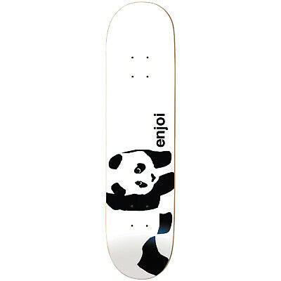 Enjoi Deck White Panda Logo 7.75""