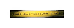 Blue Tile Lounge Sticker Smoke Seal