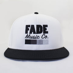 Fade Cap White/Black