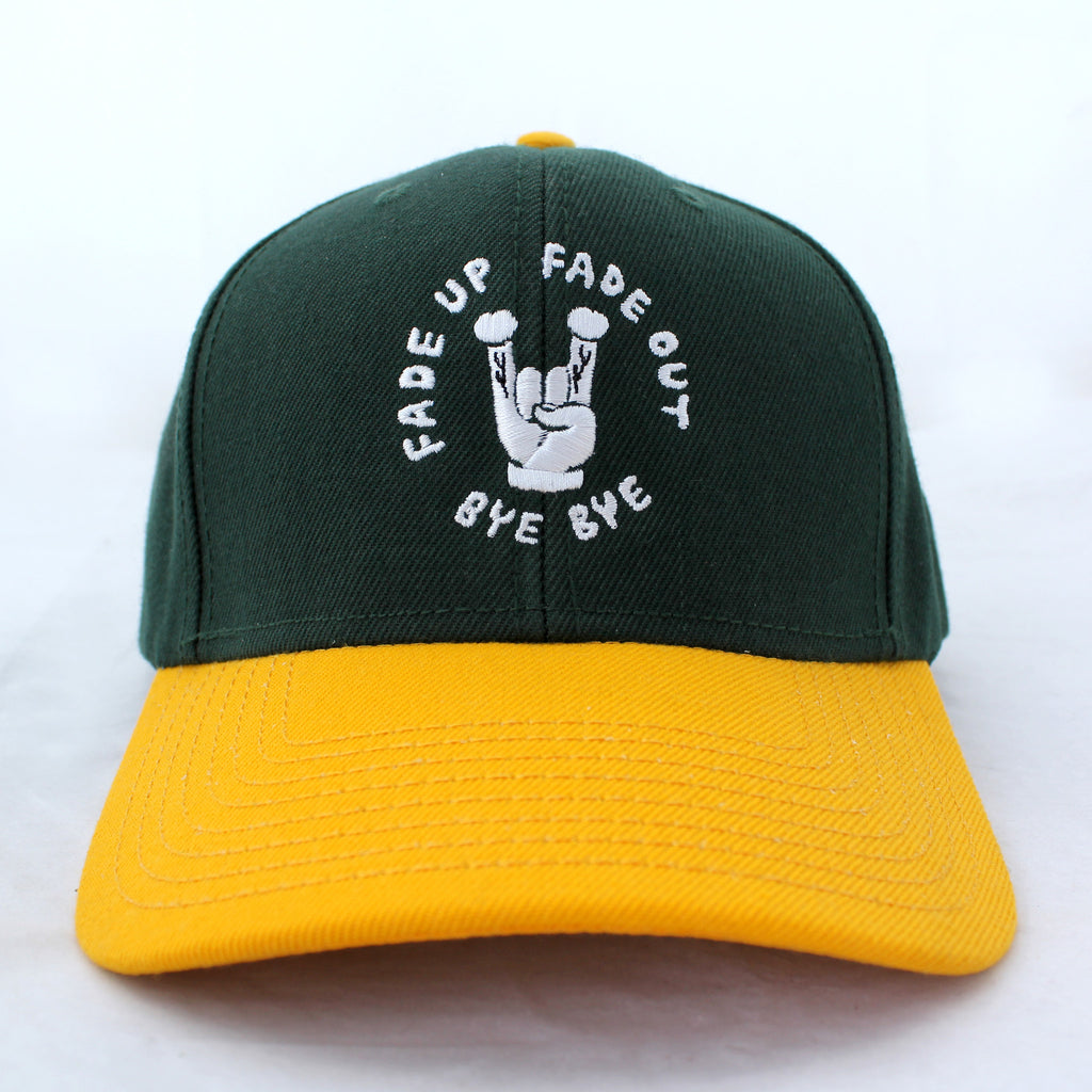 FUFOBB V.1 Cap Green/Yellow
