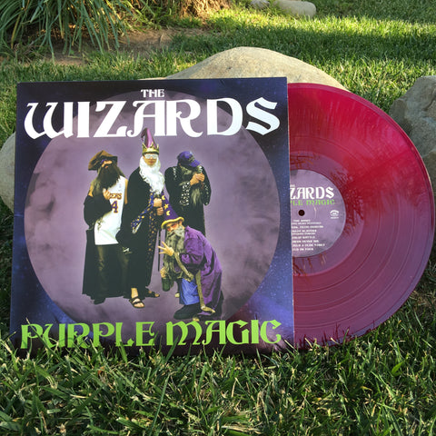 "The Wizards, Purple Magic 12"" Vinyl"