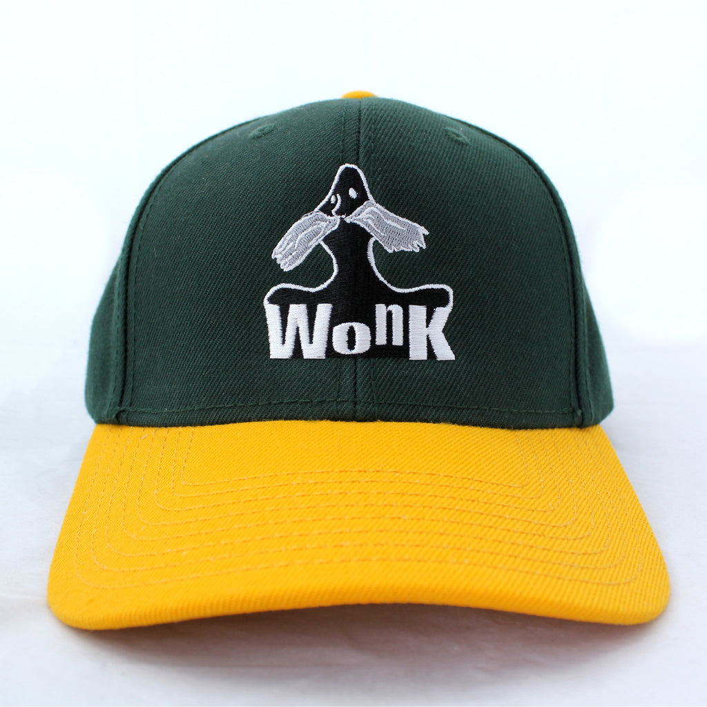 Wonk Cap Green/Yellow