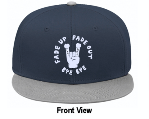FUFOBB V.1 Cap Blue/Gray