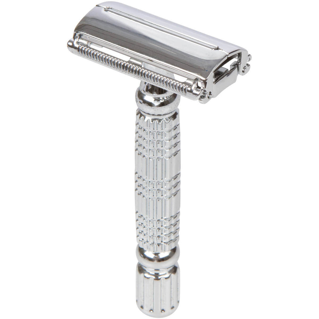 Bigfoot Shaves Double Edge Razor And Swedish Stainless Steel Safety Razor Blades For Men - Bigfoot Twist Modern