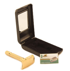 Gleaming Gold - 3Piece Classic mens grooming item, collectors item