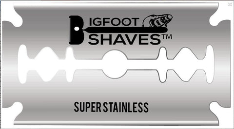 Safety Razor Blade - 10 Blade Pack - Bigfoot Shaves