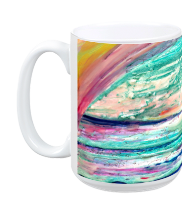"""Imaginary Sea 1"" Mug"