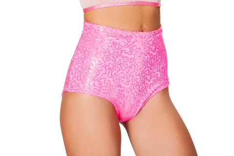 Sequin Hot Shorts - FreetheSpirit