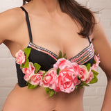 Rose Petal Bustier - 34B - FreetheSpirit