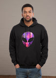 Galaxy Print Alien Hoodie - FreetheSpirit