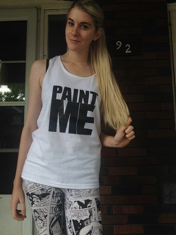 Men's PAINT ME Tank Top - FreetheSpirit