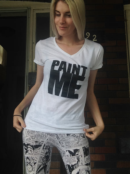 Women's PAINT ME T-Shirt - FreetheSpirit
