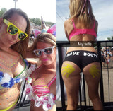 Rave Booty Shorts - FreetheSpirit