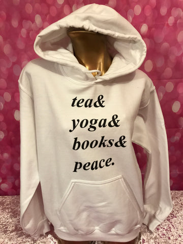 Tea and Yoga Hoodie - FreetheSpirit